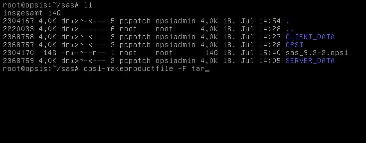 Softwareverteilung mit opsi – Spass mit cpio